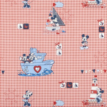 Disney Mickey Mouse Minnie Mouse Fabric SKIPPER.30.140