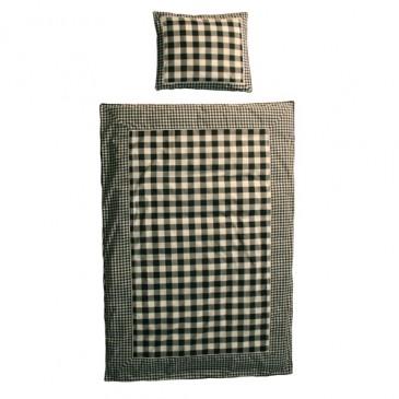 Fabric VICHY BLACK DUVET COVER