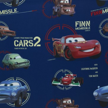 Cars Disney Fabric SUNFINN.42.150