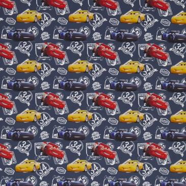 Cars Disney Fabric DUNLIN.420