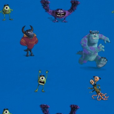 Disney Monsters Inc Fabric MONSTERS.40.140