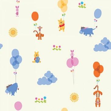Disney Winnie the Pooh Fabric OVERLAP.11.140