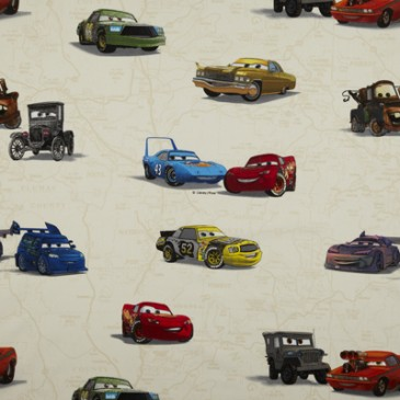 Cars Disney Fabric CARS.11.140
