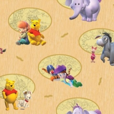 Disney Winnie the Pooh Fabric BUSTER.11.140