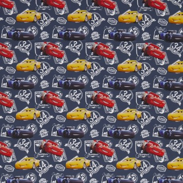 Cars Disney Fabric DUNLIN.420
