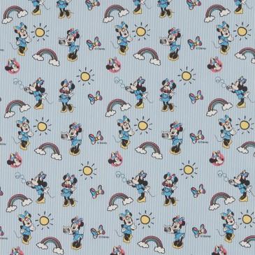 Disney Minnie Mouse Fabric RAINBOW.38.140