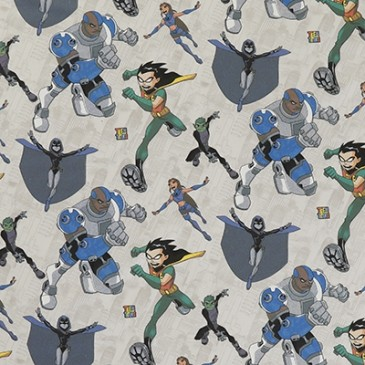DC Comics Teen Titans Fabric TITAN.13.140